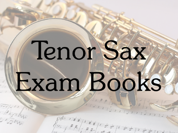 Tenor Sax Exam Books